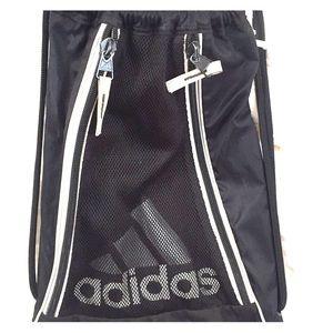 9f8857526 Adidas light pink duffle bag. EUC. M_5883b64999086a47c9012e0d. Other Bags  you may like. Adidas backpack, black